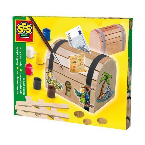 Image of Piraten spaarpot bouwpakket