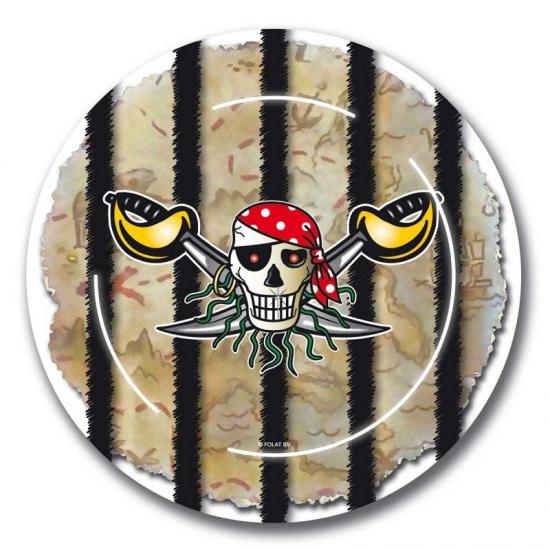 Image of Piratenfeestje bordjes 23cm