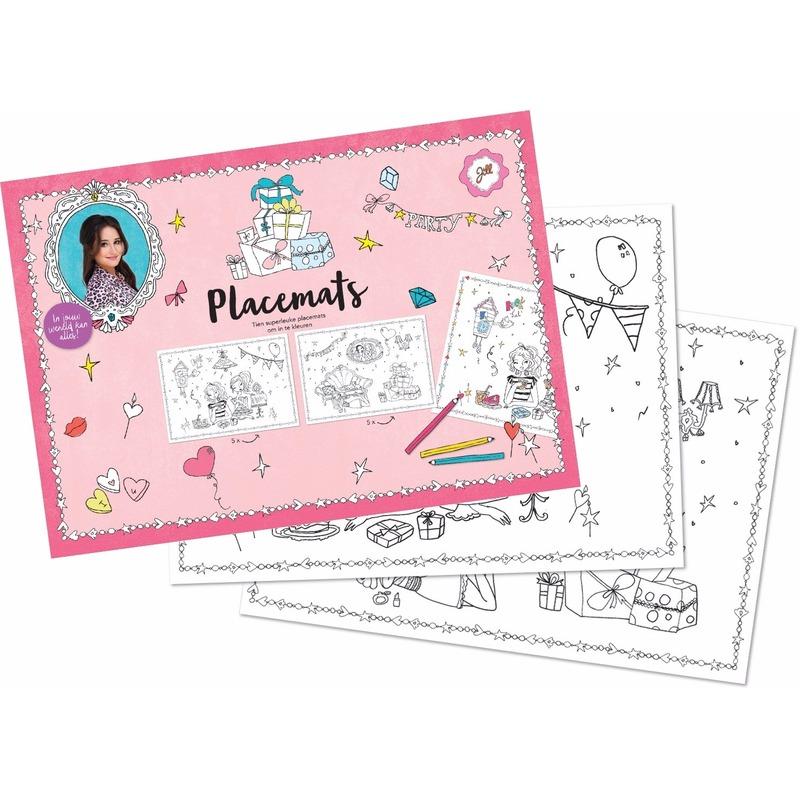 Image of Placemats Jill knutsel setje 10 stuks