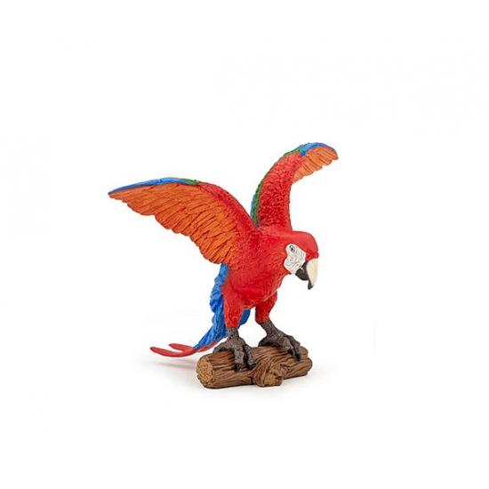 Image of Plastic Ara papegaai 9 cm