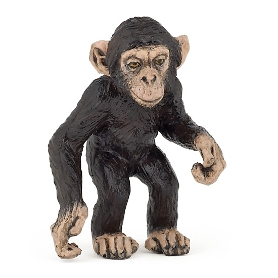 Image of Plastic baby chimpansee 5 cm