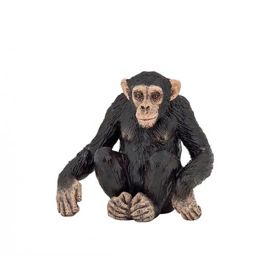 Image of Plastic chimpansee 6 cm