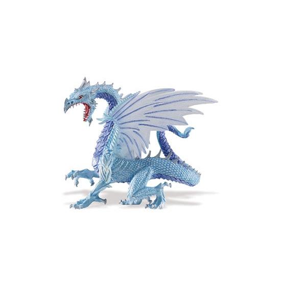 Image of Plastic draak blauw 15 cm