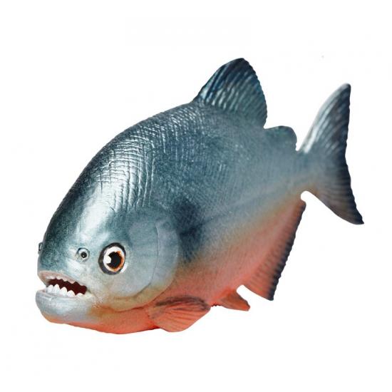 Image of Plastic Piranha speelgoed dier 11 cm