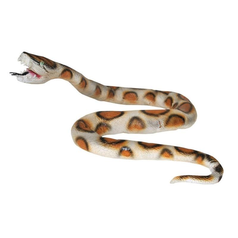 Plastic python 160 cm lang