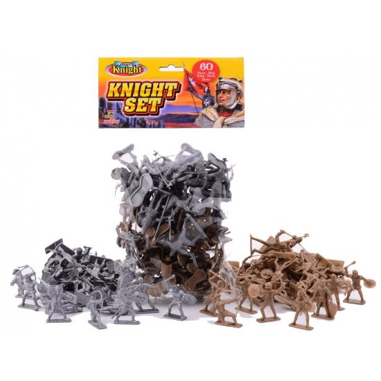 Image of Plastic ridder speelset 60 delig