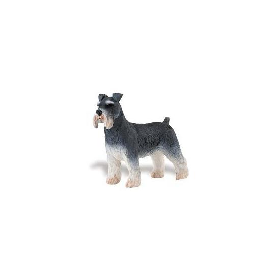 Image of Plastic schnauzer speelgoed dier 7 cm