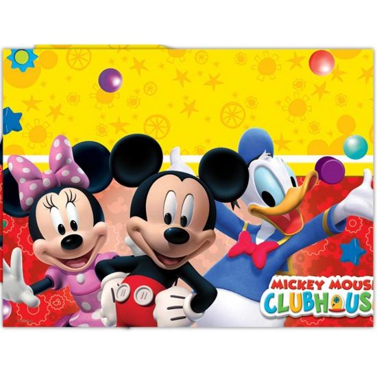 Image of Plastic tafelkleed van Mickey Mouse 120 x 180 cm