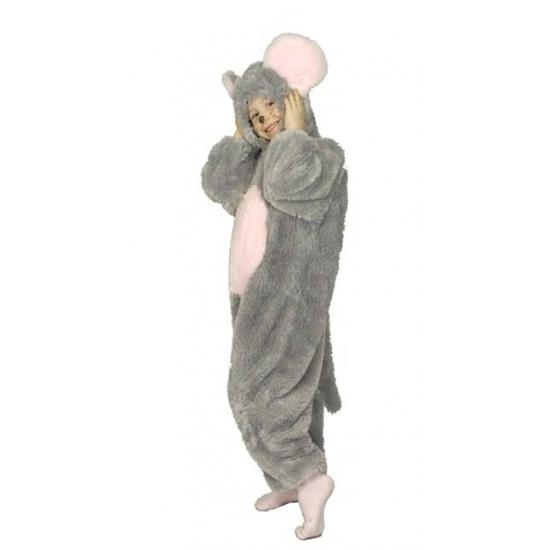 Pluche muis knaagdier onesie kinderen