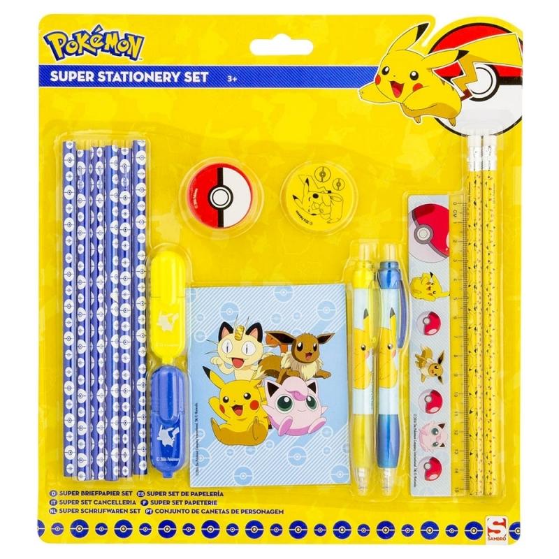 Image of Pokemon schrijfwaren setje