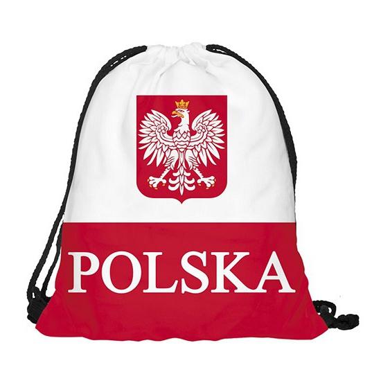 Image of Polen rugtas met rijgkoord