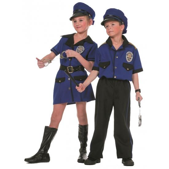Meisjes politie kostuum. leuk politie kostuum voor meisjes in de kleur blauw. dit politie kostuum is in ...