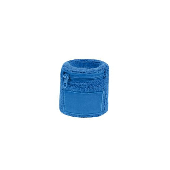 Image of Polsbanden met rits blauw