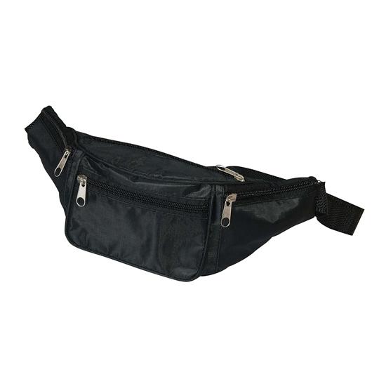 Image of Polyester zwart buiktasje