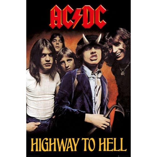 Image of Poster ACDC 61 x 91,5 cm