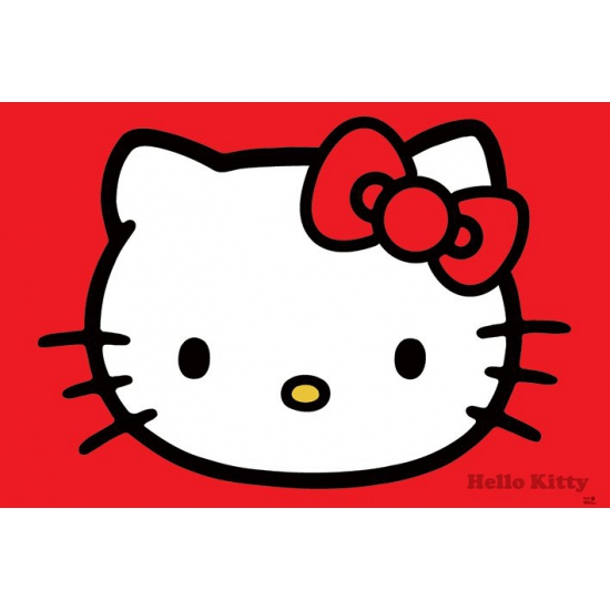 Image of Poster Hello Kitty 61 x 91,5 cm