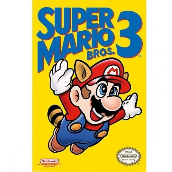 Image of Poster Nintendo Mario Bros 61 x 91 cm