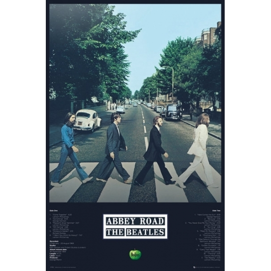 Image of Poster The Beatles Abbey Road 61 x 91,5 cm