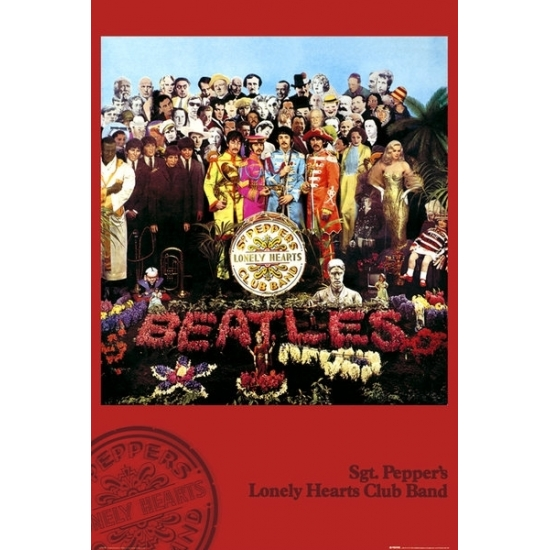 Image of Poster The Beatles Sgt Pepper 61 x 91,5 cm