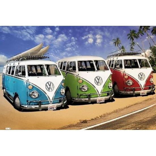 Image of Posters van Volkswagen Camper