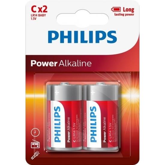 Image of Power alkaline batterijen LR14 1,5 v