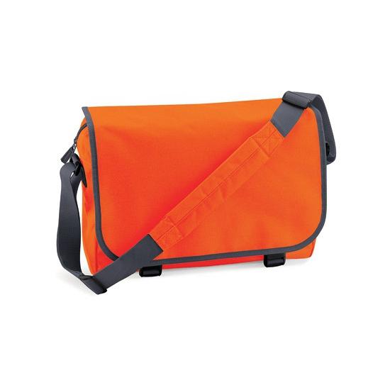 Praktische aktetas 11 liter oranje