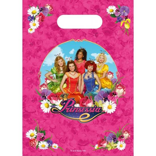 Image of Prinsessia thema feestzakjes 6 stuks