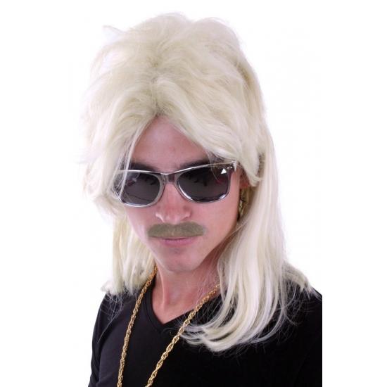 Image of Pruik met matje blond
