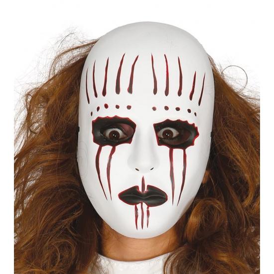 Image of Psycho mime masker voor volwassenen