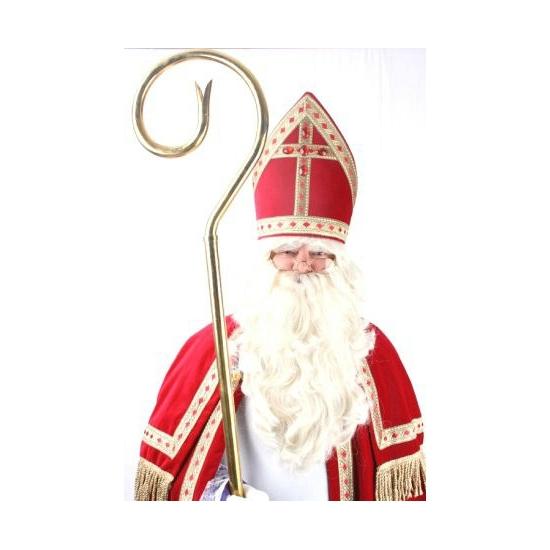 Image of Realistische Sinterklaas baardstel