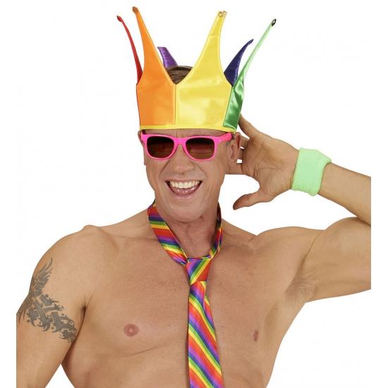Image of Regenboog kroon voor volwassenen
