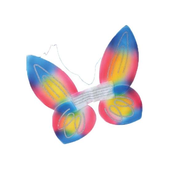 Image of Regenboog vlinder vleugels voor kids