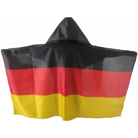 Image of Regencape zwart/geel/rood