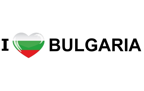 Image of Reis sticker I Love Bulgaria