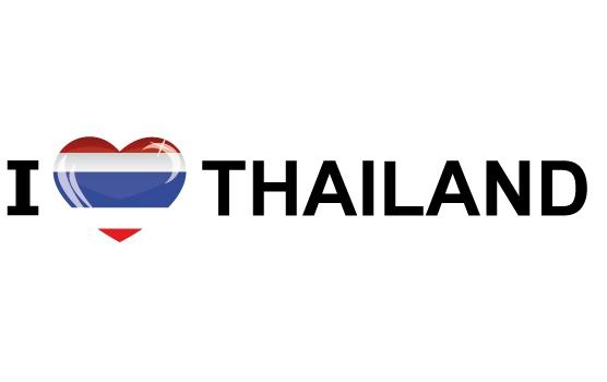 Image of Reis sticker I Love Thailand