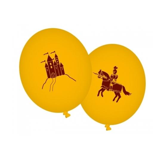 Image of Ridderfeestje ballonnen oranje