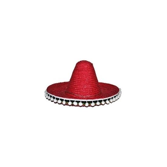 Image of Rode sombrero 40 cm voor volwassenen