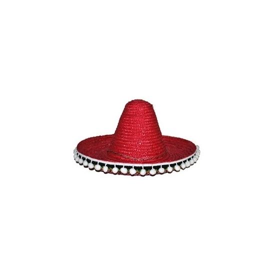 Image of Rode sombrero 60 cm voor volwassenen