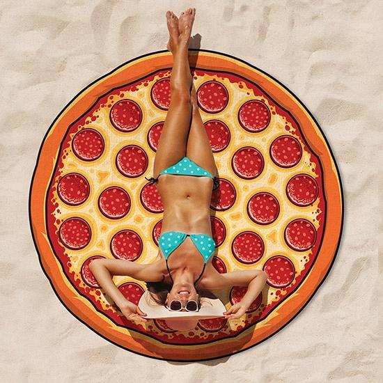 Image of Rond badlaken pizza 150 cm