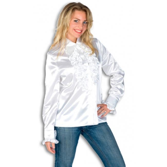 Feestelijk Overhemd.Wit Feestelijk Overhemd Met Rouches Oranjeshopper Kopen Vanaf 37 95