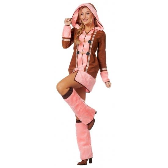Image of Roze Eskimo jurk voor dames