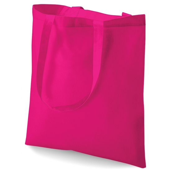 Image of Roze katoenen tasje