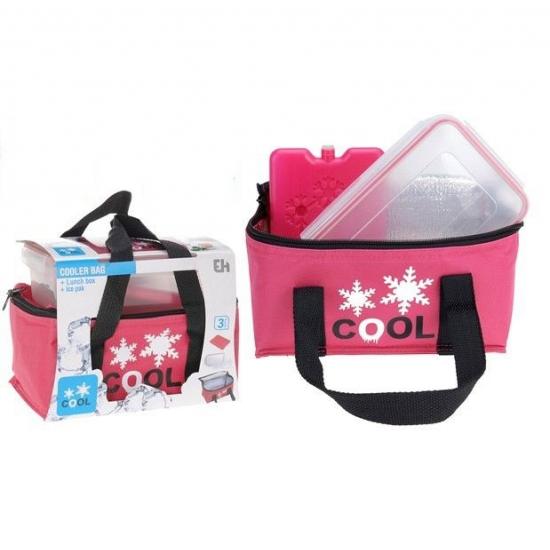 Image of Roze koeltas set