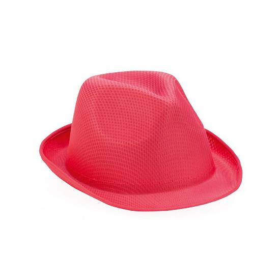 Image of Roze trilby hoedje voor volwassenen