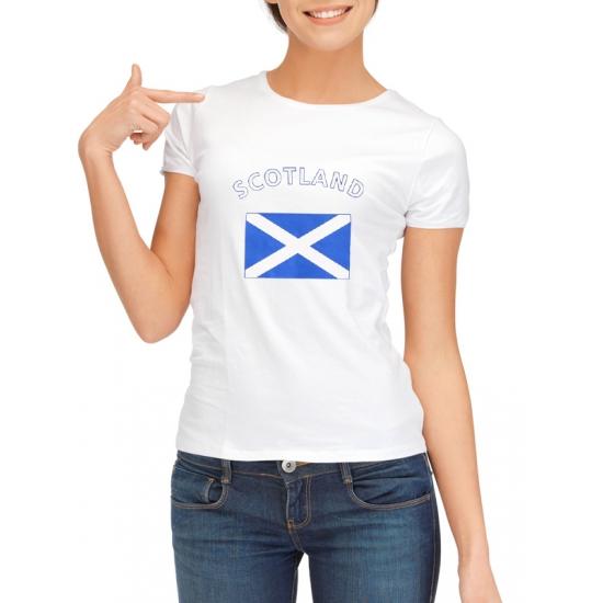 Image of Schotland t-shirt met Schotse vlag print voor dames