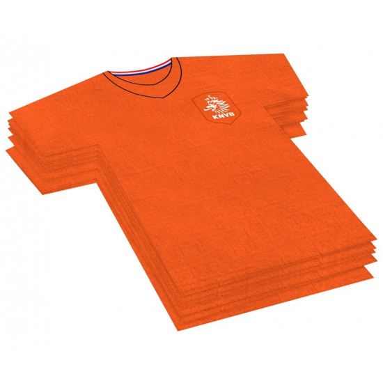 Image of Servet in t-shirt vorm KNVB
