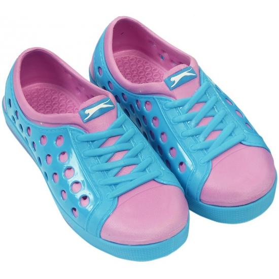 Image of Slazenger waterschoenen voor dames blauw/roze