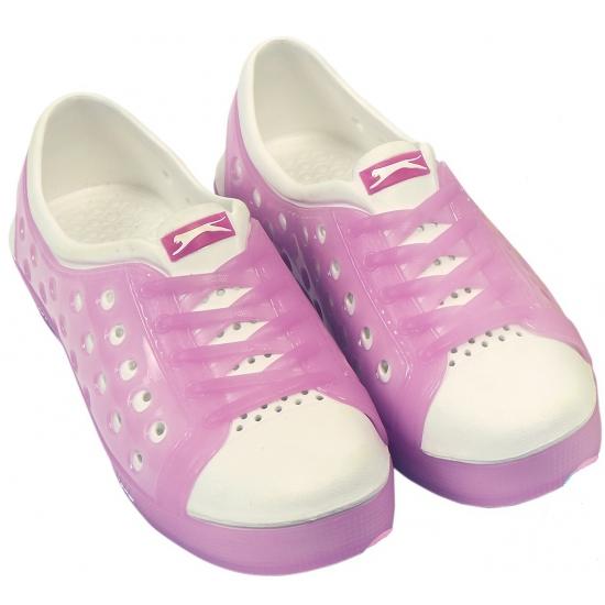 Image of Slazenger waterschoenen voor dames roze/wit