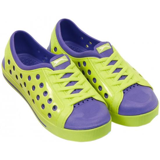 Image of Slazenger waterschoenen voor meisjes lime/paars