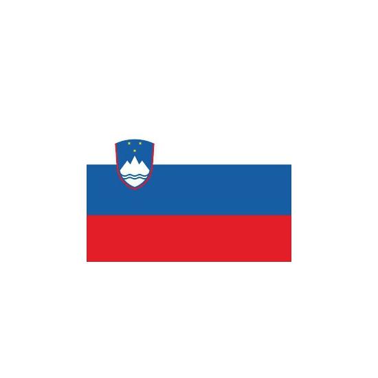 Sloveense vlaggetjes stickers